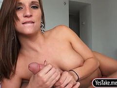 Skanky gf Kylie Kane tries out anal sex and caught on tape