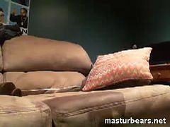 My sofa masturbation with big toys