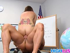 Teen Mae Meyers gets banged