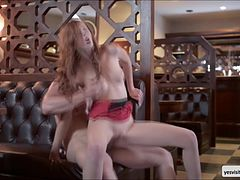 Denis Reed fucked redhead Linda Sweets tight butt from behind