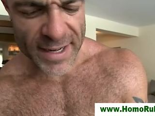 Straight Stud Buttfucked By Gay Masseur