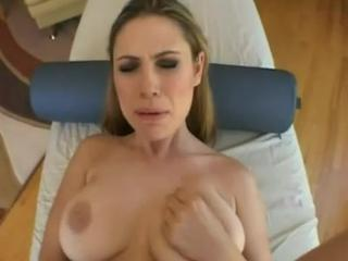 Swallows lot of cum slutload